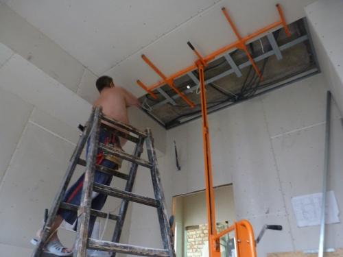Монтаж гипсокартонных потолков в Днепропетровске