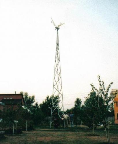 Монтаж, инсталяция ветрогенератора ВЭУ