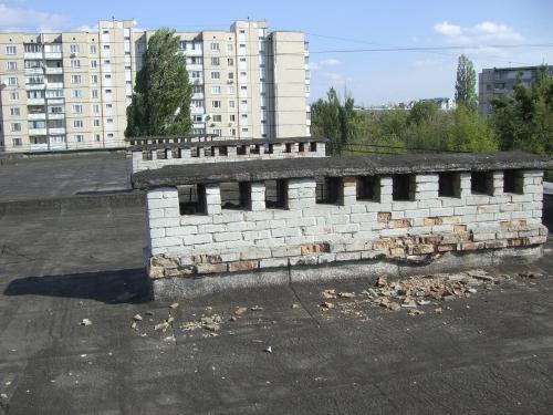 Монтаж отливов зданий