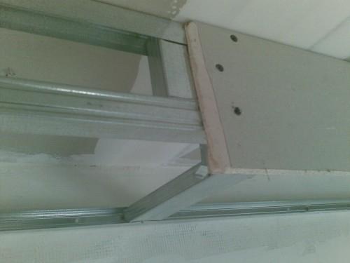 Монтаж перегородочных стен