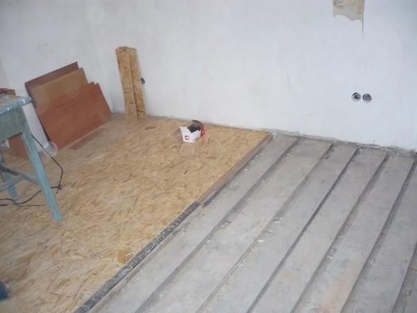 Монтаж підлоги (лаги, дошка, фанера), вирівнювання. Реставрація паркету.