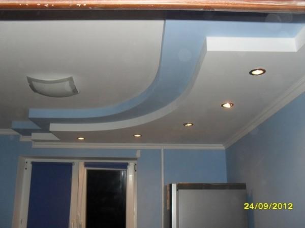 Монтаж підвісніх стель з ГК м2