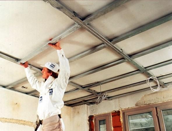 Навесной пластиковый потолок своими руками пошаговая инструкция 99