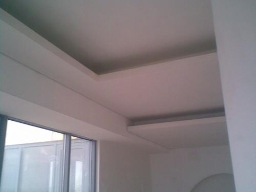 Монтаж потолков с прямолинейной скрытой подсветкой