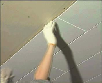 Монтаж потолочных декоративных, тепло-, звукоизоляционных панелей ISOTEX для ремонта квартир