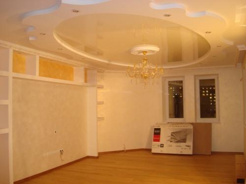Монтаж потолочного каркаса, устройство многоуровневых потолков http://stroi. kiev. ual