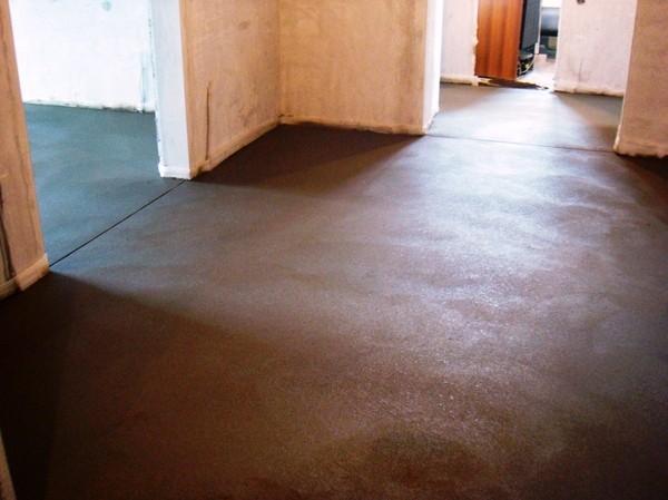 Монтаж цементной стяжки до 60мм