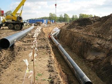 Монтаж трубопроводов различного назначения для водоснабжения и канализации