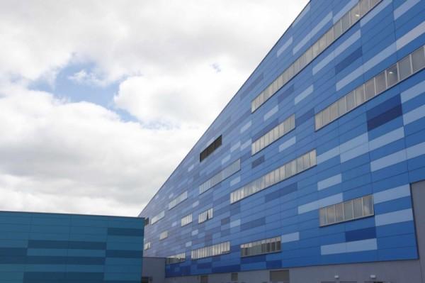 Монтаж вентелируемых фасадов с алюминиевыми композитными панелями Алюкобонд