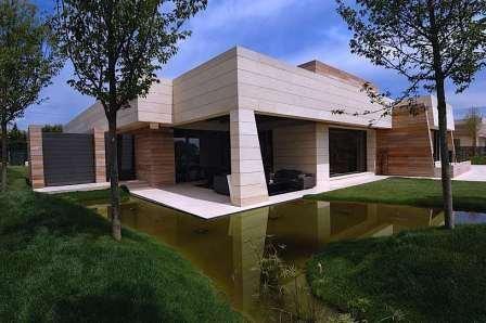 Монтаж вентилируемых фасадов с облицовкой керамогранитом (Oceano, Megagres)