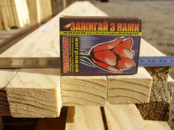 Монтажная деревянная рейка (контр-рейка)
