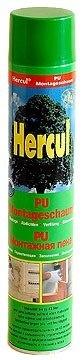 Монтажная пена «HERCUL» (Standart) Состоит только из полиуретана