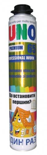Монтажная пена профессиональная Uno Premium Prof 65 ( Словения)