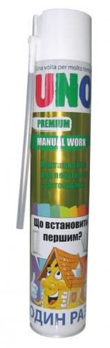 Монтажная пена ручная Uno Premium Manual Work (Словения) отличается большим выходом
