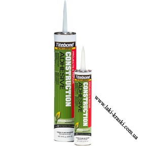 Монтажный клей Titebond для виниловых и резиновых профилей.