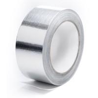 Монтажный скотч алюминиевый ALENOR (50 мм х 40 м) Пенофол. Изолон
