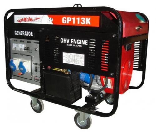 Мощный бензогенератор Glendale GP111K, 9 кВт, однофазный, для дома, 2 года гарантии, доставка