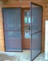 Москітна сітка повротна, для вхідних дверей.