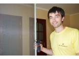 Москитная сетка на балконную дверь на Березняках