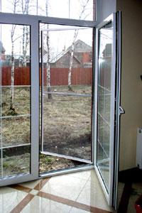 Москитная сетка, оконная, дверная, цвет - белый, коричневый, ламинация под цвет окон по RENOLIT.