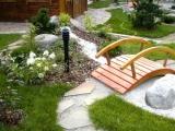 Мостики садовые из массива дерева. Цена от