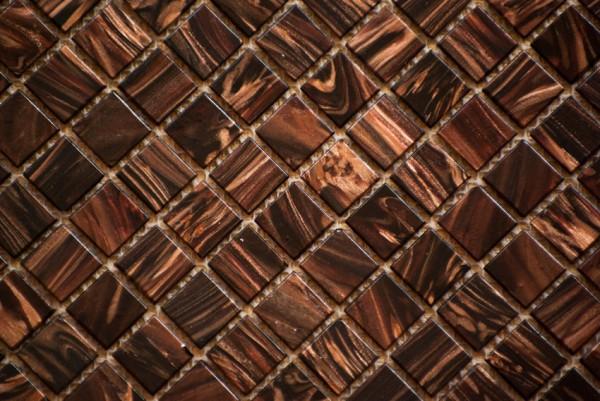 Мозаика 20х20 с авантюрином