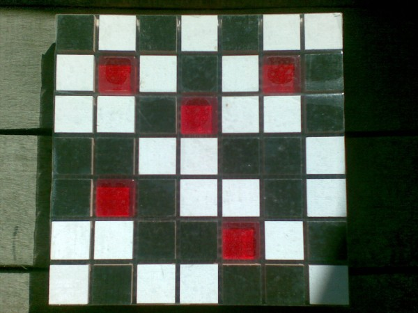мозаика керамика стекло 20 х 20