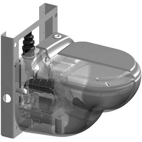 мпакт-измельчитель для принудительной канализации SANICOMPACT STAR