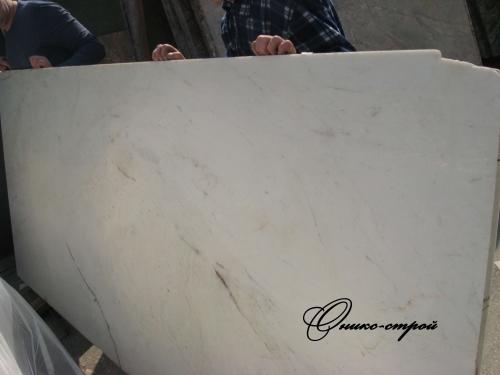 Мрамор Banswara White (Индия) в слябах 20 мм