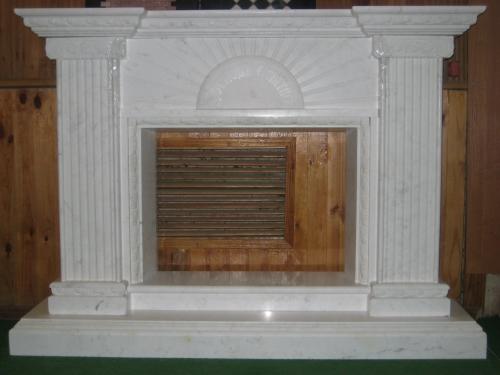 Мрамор-камин