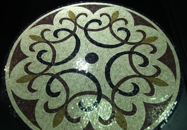 Мраморная мозайка - медаль
