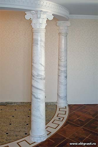 Мраморные колоны Мариуполь