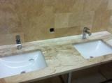 Мраморные столешницы для ванной комнаты