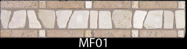 Мраморный фриз. Код MF-01.300 х 50 х 7,5 мм.