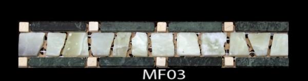 Мраморный фриз. Код MF-03.300 х 50 х 7,5 мм.