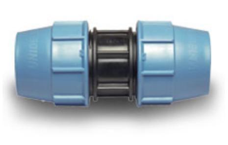 Муфта ПЭ-ПЭ D 20 х 20 мм