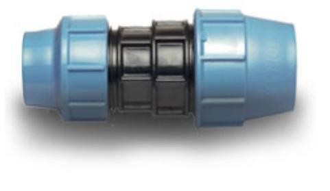 Муфта ПЭ-ПЭ редукционная D 63 х 50 мм