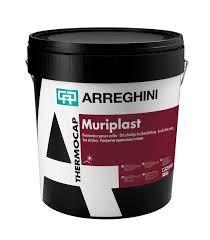 Штукатурка MURIPLAST-Акриловое покрытие для внутренних и наружных работ. Содержит специальные укрепляющие покрытие фиброволокна.