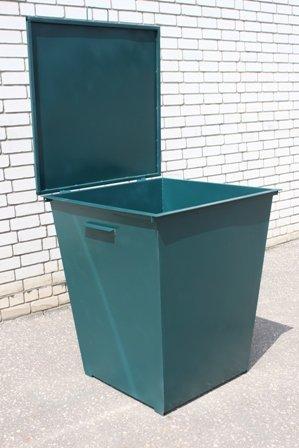 Фото  1 мусорный бак 0,75 м.куб. с крышкой, толщина металла 2 мм 1910596