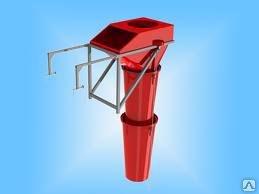 Мусоросброс предназначен для удаления строительного мусора с этажей строящихся зданий.