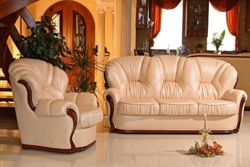 Мягкая мебель Виктория - кожа