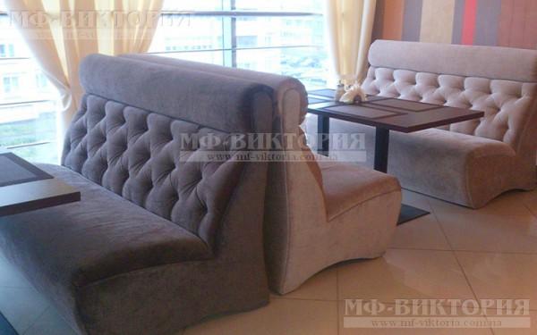Мягкий диван Фаст для кафе и ресторанов