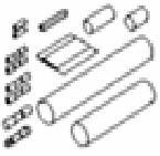 Набор для соединения и оконцевания греющих кабелей. FS-A, FS-B, HWAT-L/R/M и GM-2X