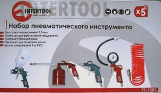 Набор пневматического инструмента INTERTOOL PT-1501