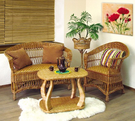 Набор Татьяна-лоза, 1-диван-2 кресла