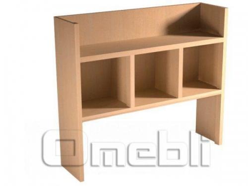 Надставка для стола UK-118   дуб молочный A10430