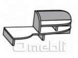 Надставка N5 0(R-L) вишня A10108