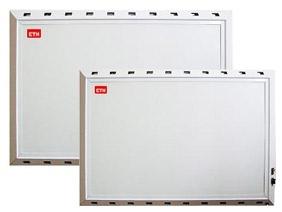 Нагреватель лучисто-конвективный . Благодаря оригинальной конструкции корпуса нам удалось объединить два вида обогрева.