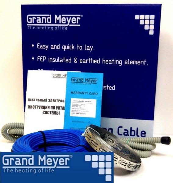 Фото 2 Теплый пол электрический нагревательный кабель Grand Meyer 337444