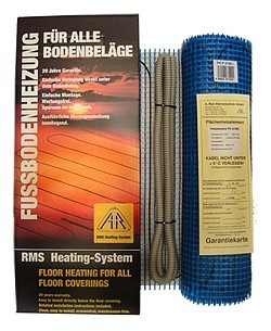 Нагревательный мат FHР 2115 площадь обогрева - 1,50 кв. м мощность - 300 Вт, пр-во Германия, гарантия - 20 лет